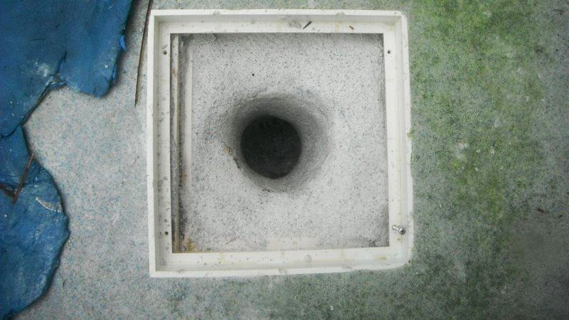 Hydro Main Drain After Photo of job done by Florida Pool and Leak